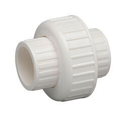 Homewerks  Schedule 40  1-1/2 in. Slip   x 1-1/2 in. Dia. Slip  PVC  Union