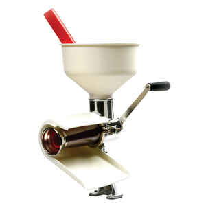 Norpro  3 in. W White  Food Strainer and Sauce Maker