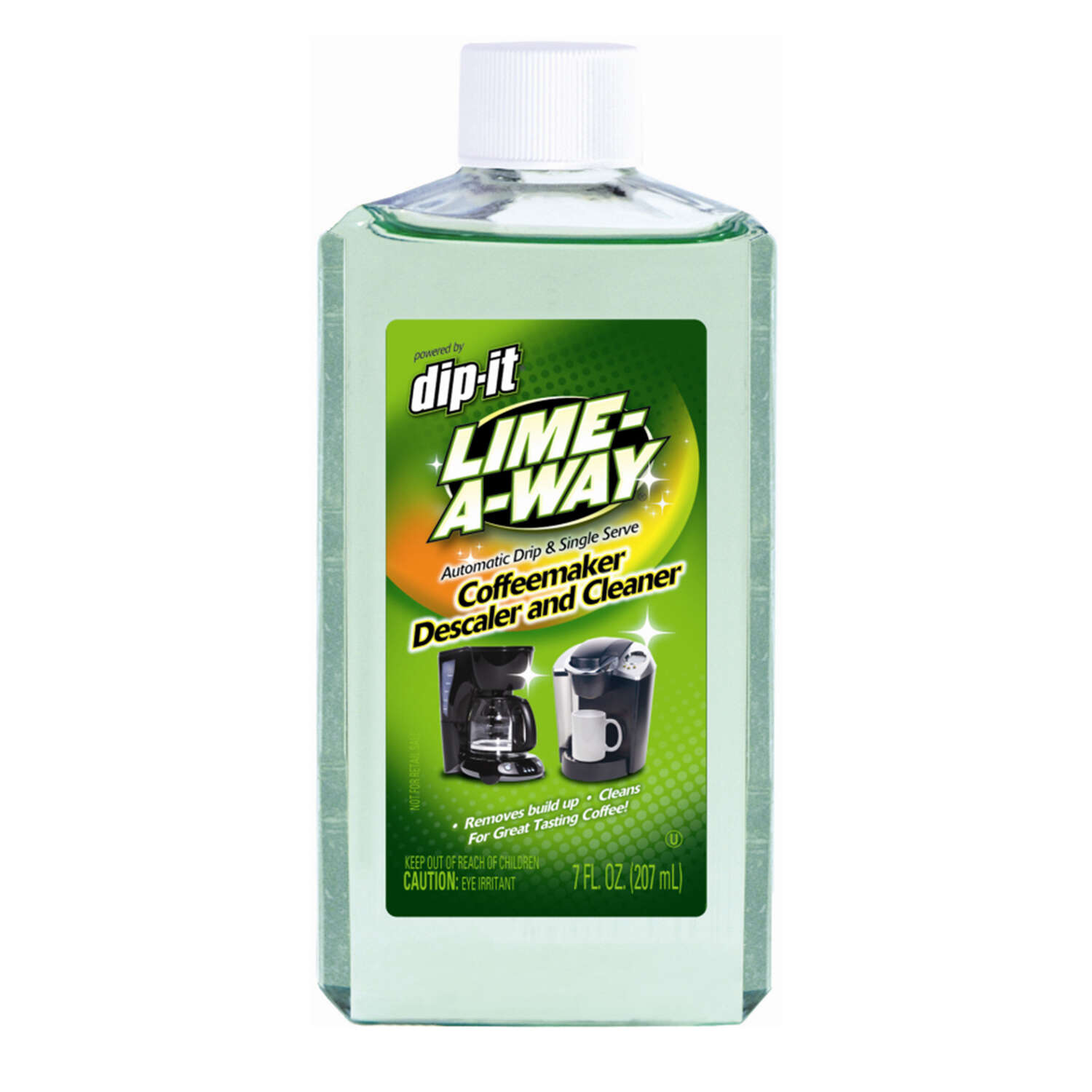 Lime-A-Way  Dip-It  Coffee Maker Cleaner  7 oz. Liquid