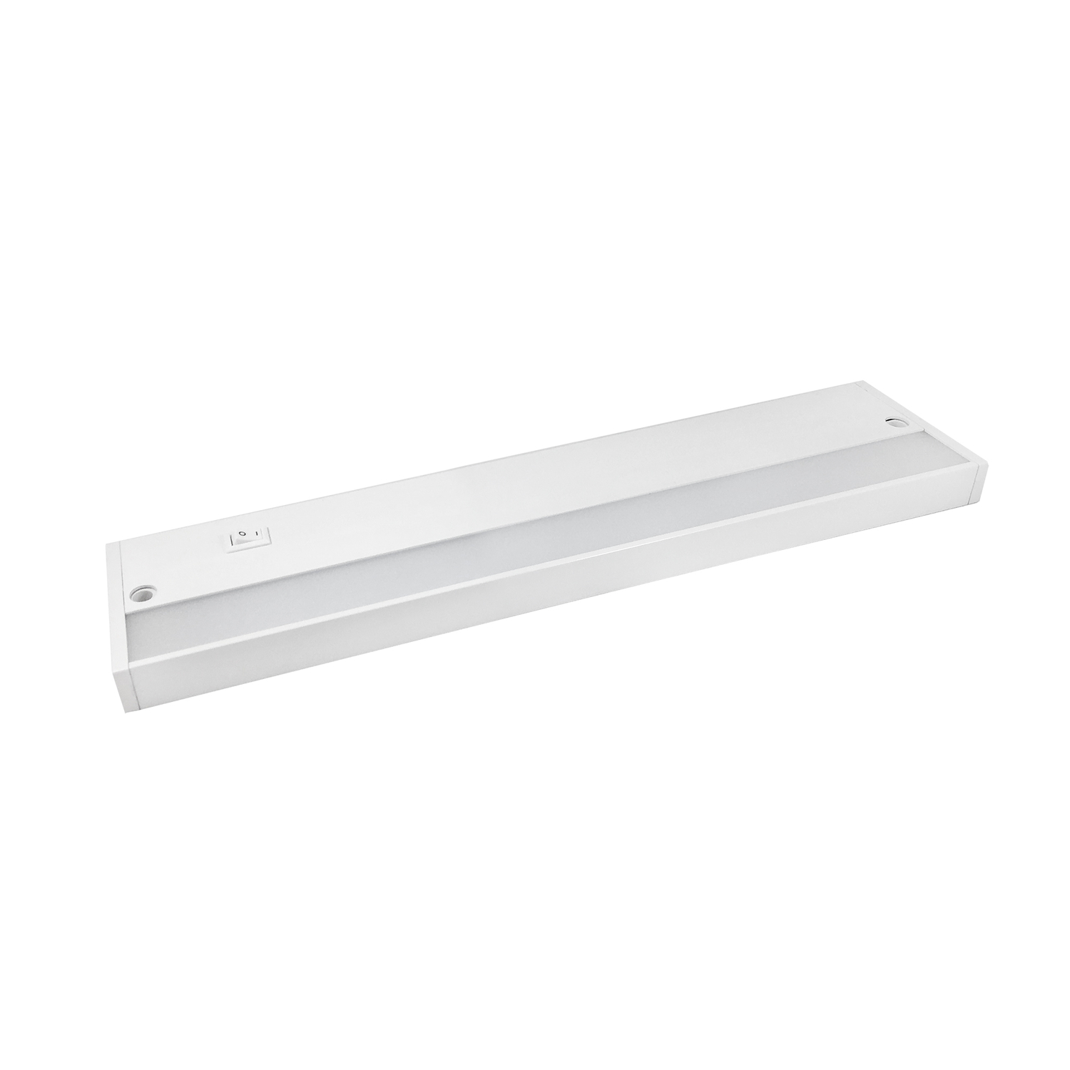 Amertac  12 in. L White  LED  Under Cabinet Light Strip  300  Plug-In