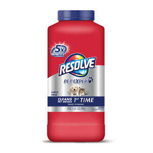 Resolve  Pet Deep Clean  No Scent Carpet Cleaner  18 oz. Powder