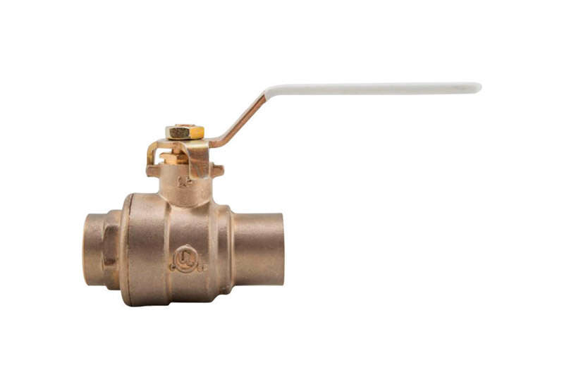 Watts  1 in. Brass  Solder  Ball Valve  Full Port