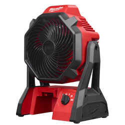Milwaukee M18 14.07 in. H 3 speed Battery Jobsite Fan