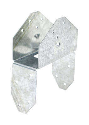 Simpson Strong-Tie 3.6 in. H x 2 in. W 18 Ga. Galvanized Steel Saddle Rafter Tie