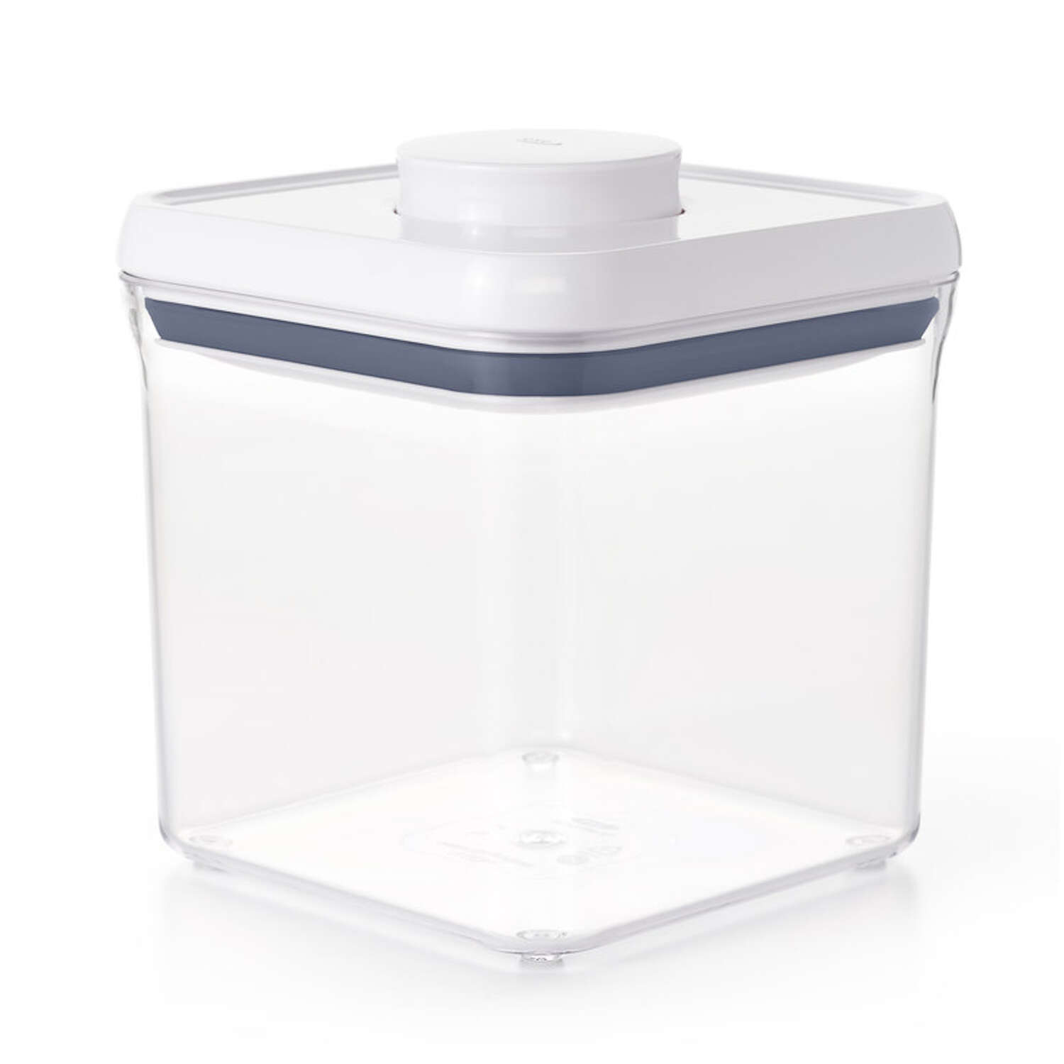 OXO  Pop Container  1 pk Good Grips  2.4 qt. Clear