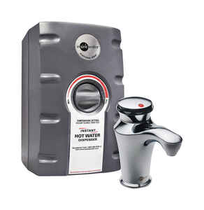 InSinkErator  2/3 gal. Silver  Hot Water Dispenser  Stainless Steel