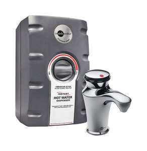 InSinkErator  2/3 gallon  Silver  Hot Water Dispenser  Stainless Steel