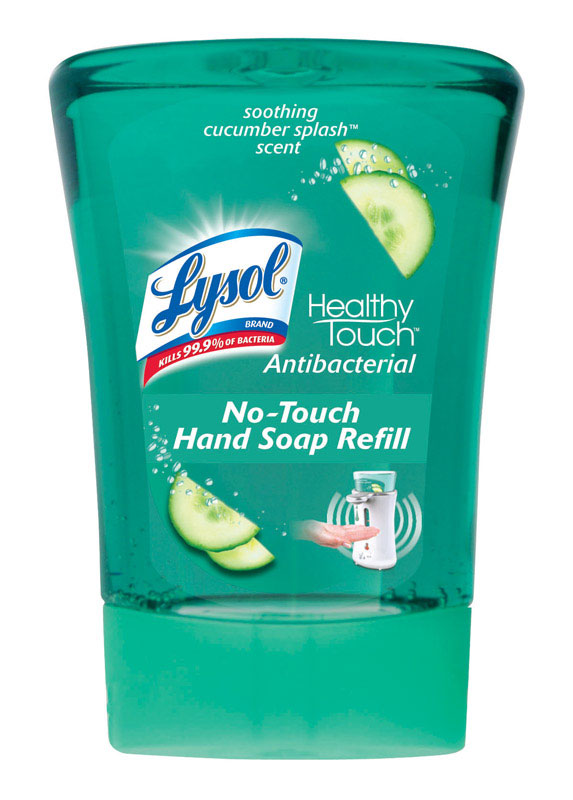 Lysol  Healthy Touch 8.5 oz. Liquid Hand Soap Cucumber Splash Scent Refill