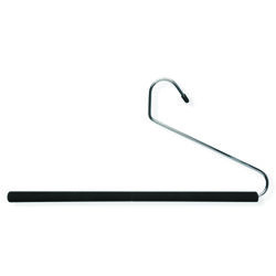 Honey Can Do  7-1/4 in. H x 7/16 in. W x 13-1/5 in. L Steel  Black  Open-Ended Hanger  3 pk