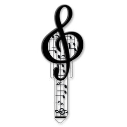 Lucky Line  Key Shapes  Music  House  Key Blank  KW1/11  Double sided For Kwikset