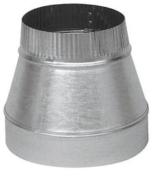 Imperial  8 in. Dia. x 6 in. Dia. Galvanized Steel  Furnace Pipe Reducer