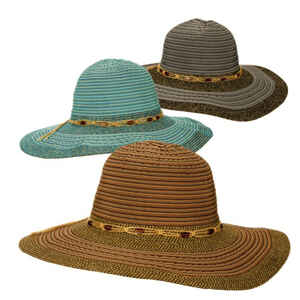 Dorfman Pacific  Women's Hat  Assorted Colors  One Size Fits All