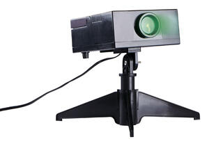 mr christmas led holiday lasermusic lightshow green 30 ft 1 lights - Mr Christmas Lights And Sounds