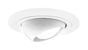Halo  White  4 in. W Recessed Light