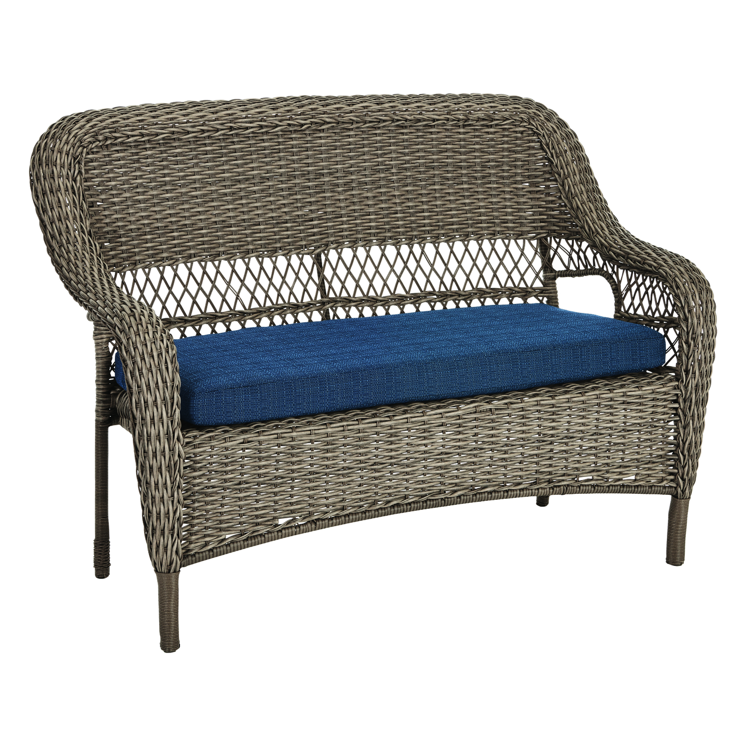Living Accents  Stackable  Wicker  Loveseat