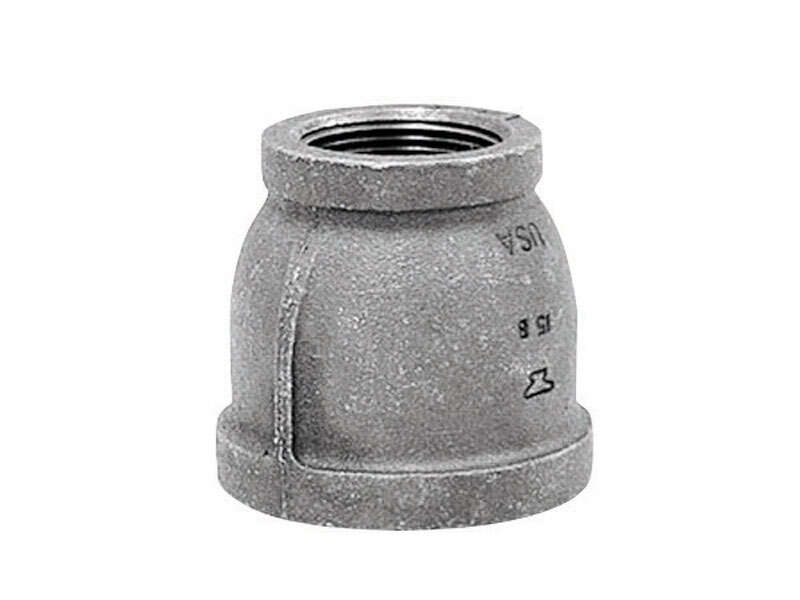 Anvil 1/4 in. FPT x 1/8 in. Dia. FPT Black Malleable Iron Reducing Coupling