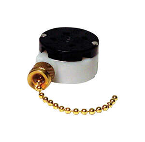 Gardner Bender  Brass  Pull Chain Switch