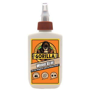 Gorilla  Natural Wood  Wood Glue  4 oz.