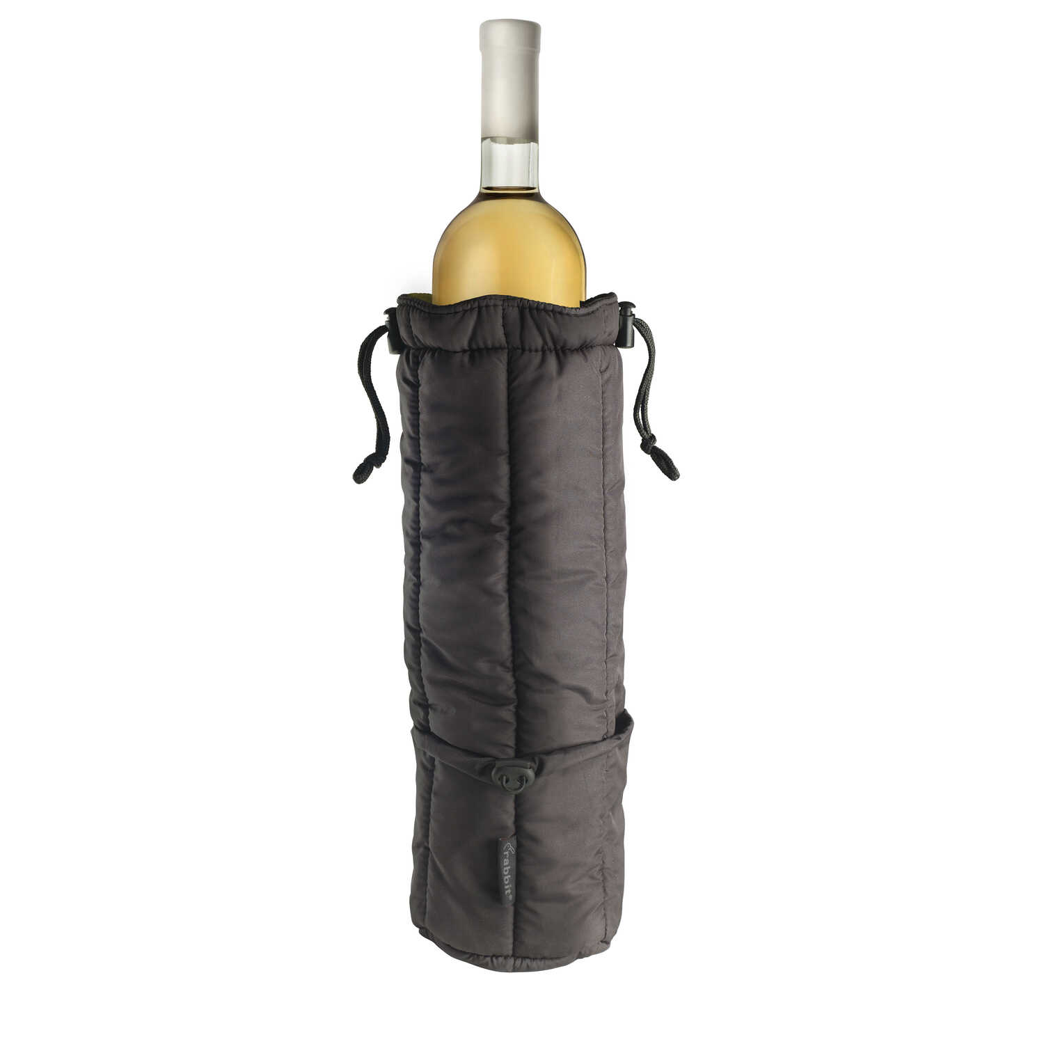 Rabbit  Black  Wine Tote  Nylon