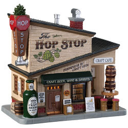 Lemax  Plug-In  The Hop Stop  Village Building