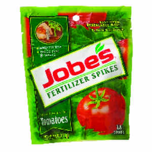 Jobe's  Fertilizer Spikes  6-18-6  Tomato & Vegetable Fertilizer  18 pk
