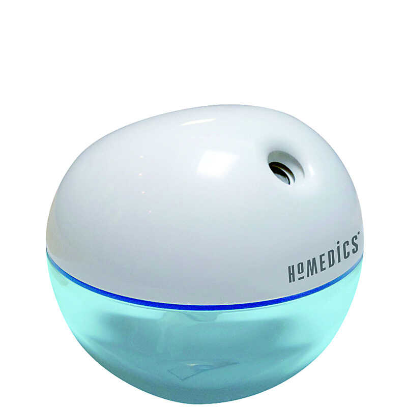 Homedics  Total Comfort  7 oz. 0 sq. ft. Automatic  Travel Humidifier