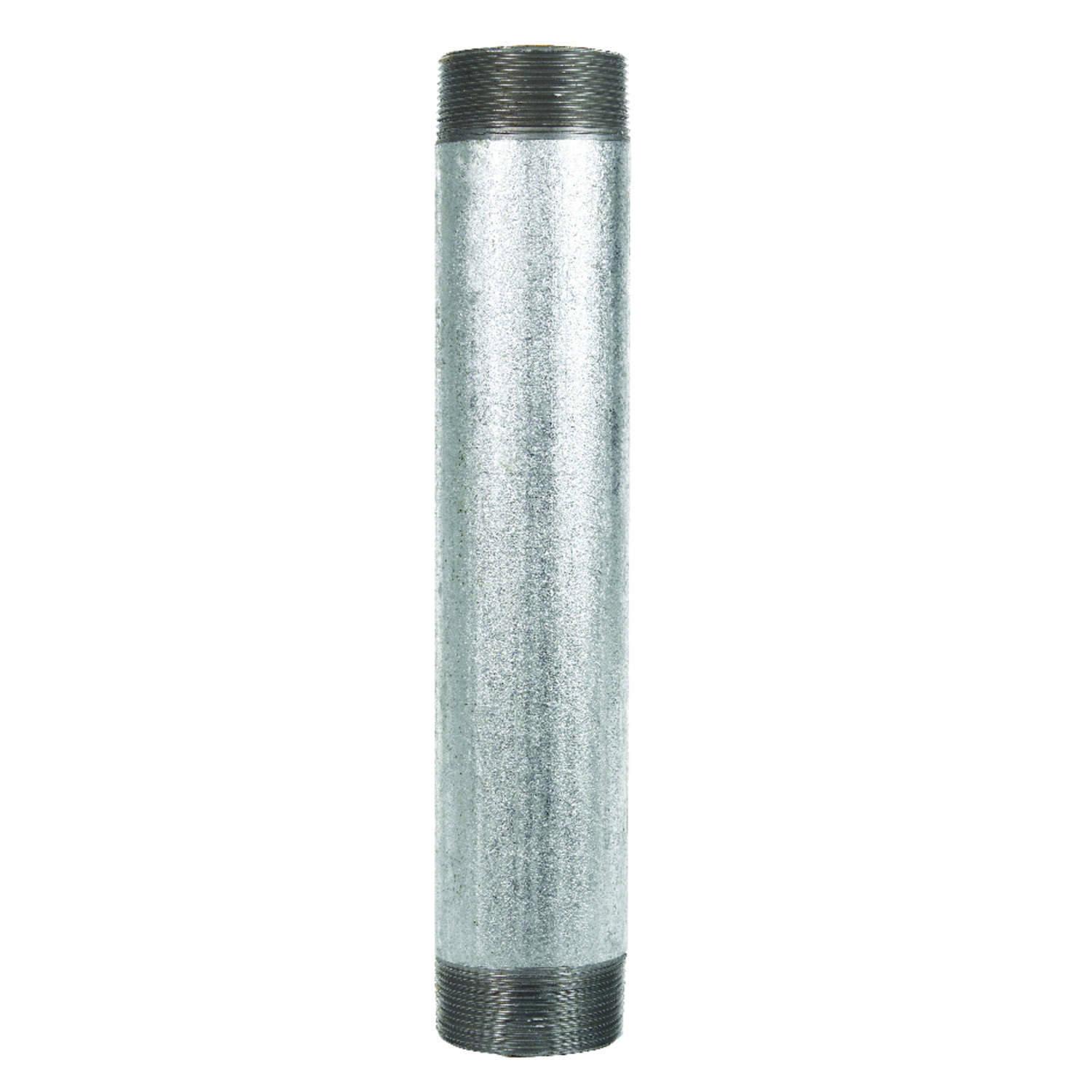 BK Products  Southland  3 in. MPT   x 3 in. Dia. x 8 in. L MPT  Galvanized  Steel  Nipple