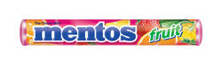 Mentos  Assorted Fruit Flavors  Chewy Candy  1.32 oz.