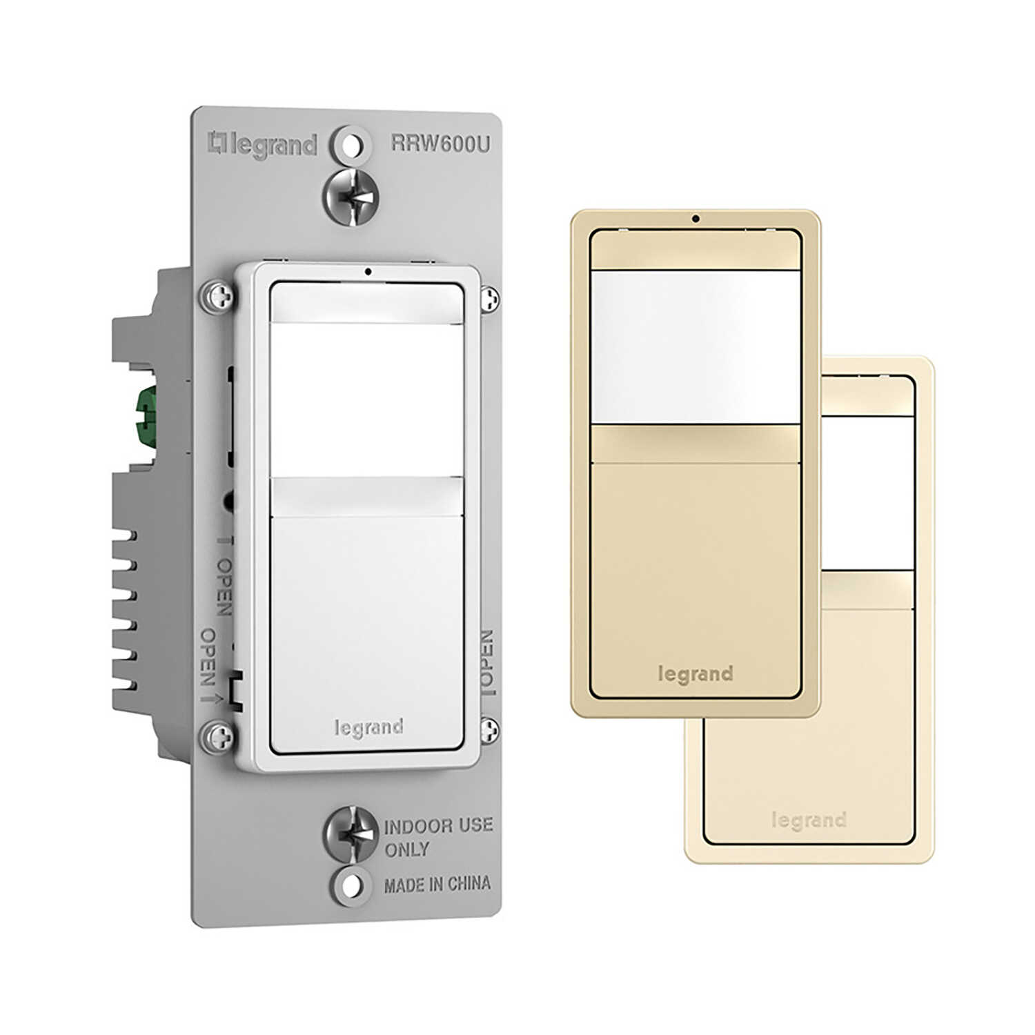 Legrand Radiant 15 amps Motion Sensor Switch Ivory, Light Almond, ...