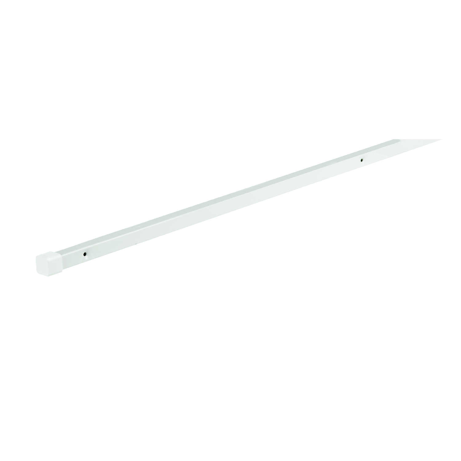 Rubbermaid  84 in. H x 1/2 in. W x 1/2 in. L Steel  Shelf Support Pole  1 each