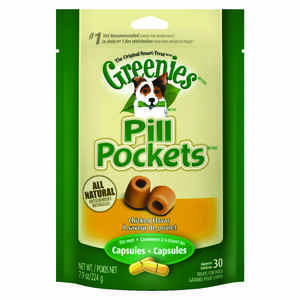 Greenies  Pill Pockets  Chicken  Dog  Treats  30 pk 7.9 oz.