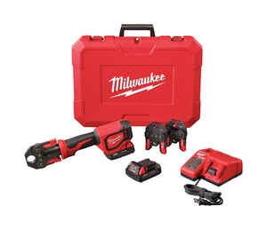 Milwaukee  M18  Short Throw Press Tool Kit with PEX Crimp Jaws