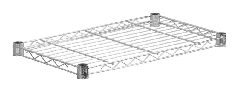 Honey Can Do  1 in. H x 14 in. W x 36 in. D Steel  Shelf Rack