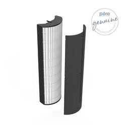 Pure Enrichment PureZone 17-3/4 in. H x 3-3/4 in. W Round HEPA Air Purifier Filter