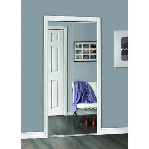 Erias  77.93 in. H x 35.5 in. W Bifold Mirrored Door