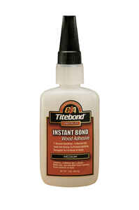 Titebond  Premium Instant Bond  Translucent  Wood Adhesive  2 oz.