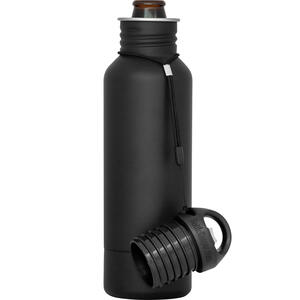BottleKeeper  The Standard 2.0  Insulated Bottle Koozie  12 oz. Black  1 pk