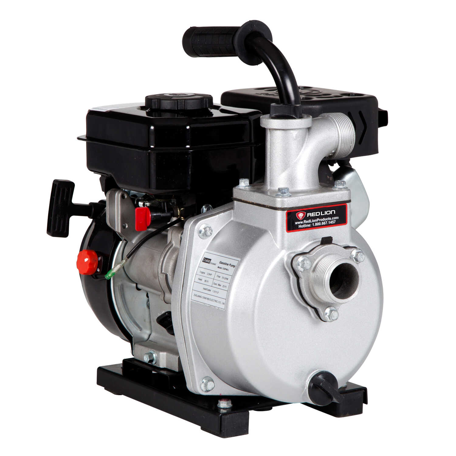 Red Lion  Aluminum  Transfer Pump  2.4 hp 3,600 gph N/A volts