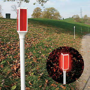 Living Accents  Solar Powered  LED  1  Driveway Marker