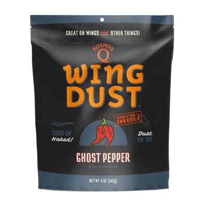 Kosmos Q  Wing Dust  Ghost Pepper  Wing Seasoning  5 oz.