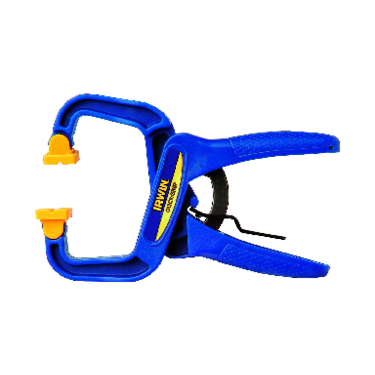 Irwin  Quick-Grip  1-1/2 in. D Resin  Locking  Handi-Clamp  Blue  1 pc.
