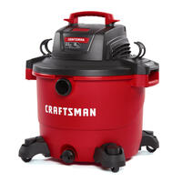 Deals on Craftsman 16 gal. Corded Wet/Dry Vacuum 12 amps 120volt