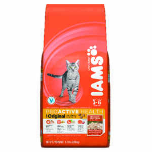 Iams  ProActive Health  Original Chicken  Dry  Cat  Food  5.7 lb.