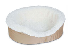 Aspen Pet  Assorted  Sheepskin  Pet Bed  7 in. H x 23 in. W x 17 in. L