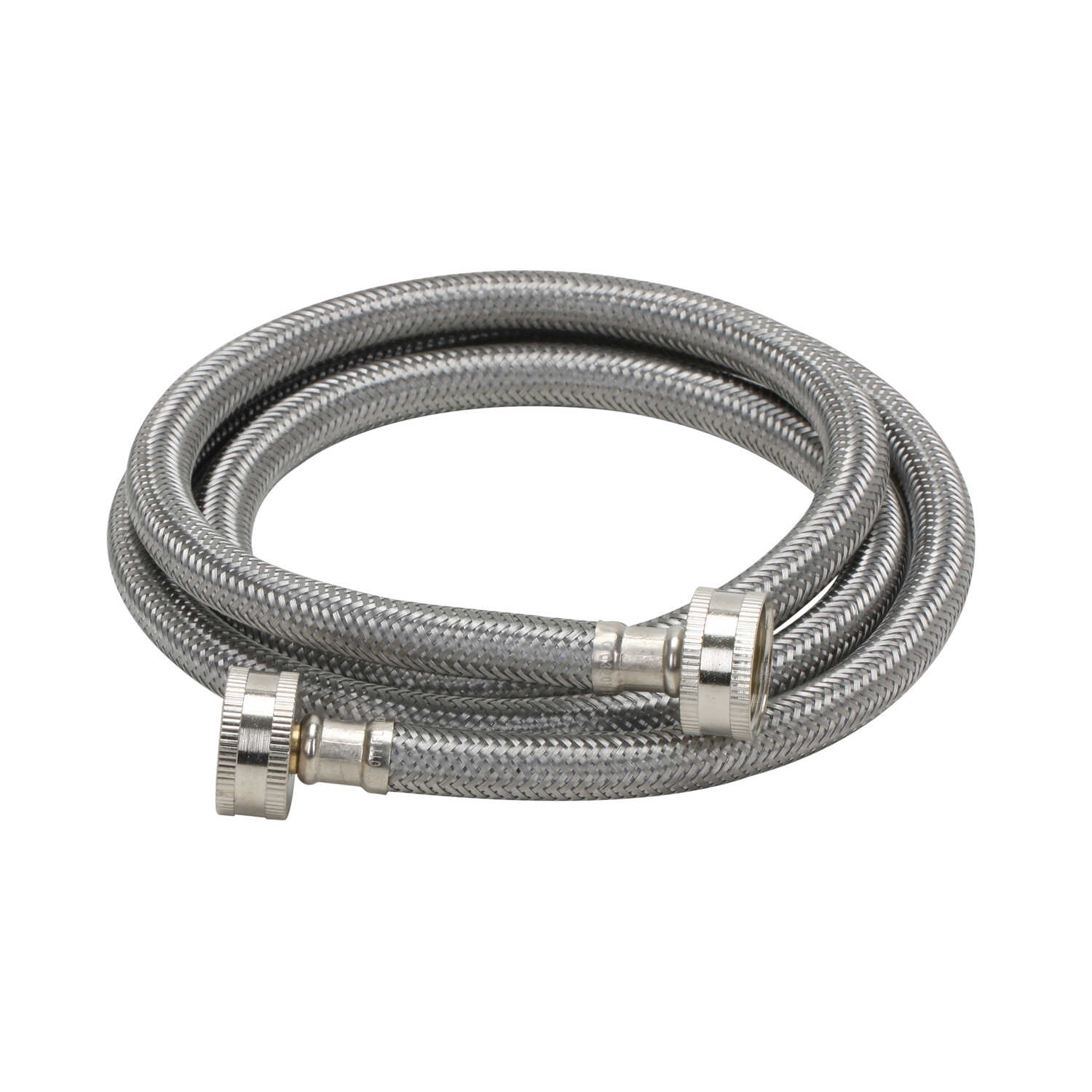 Fluidmaster  3/4 in. Hose   x 3/4 in. Dia. Hose  48 in. Stainless Steel  Supply Line