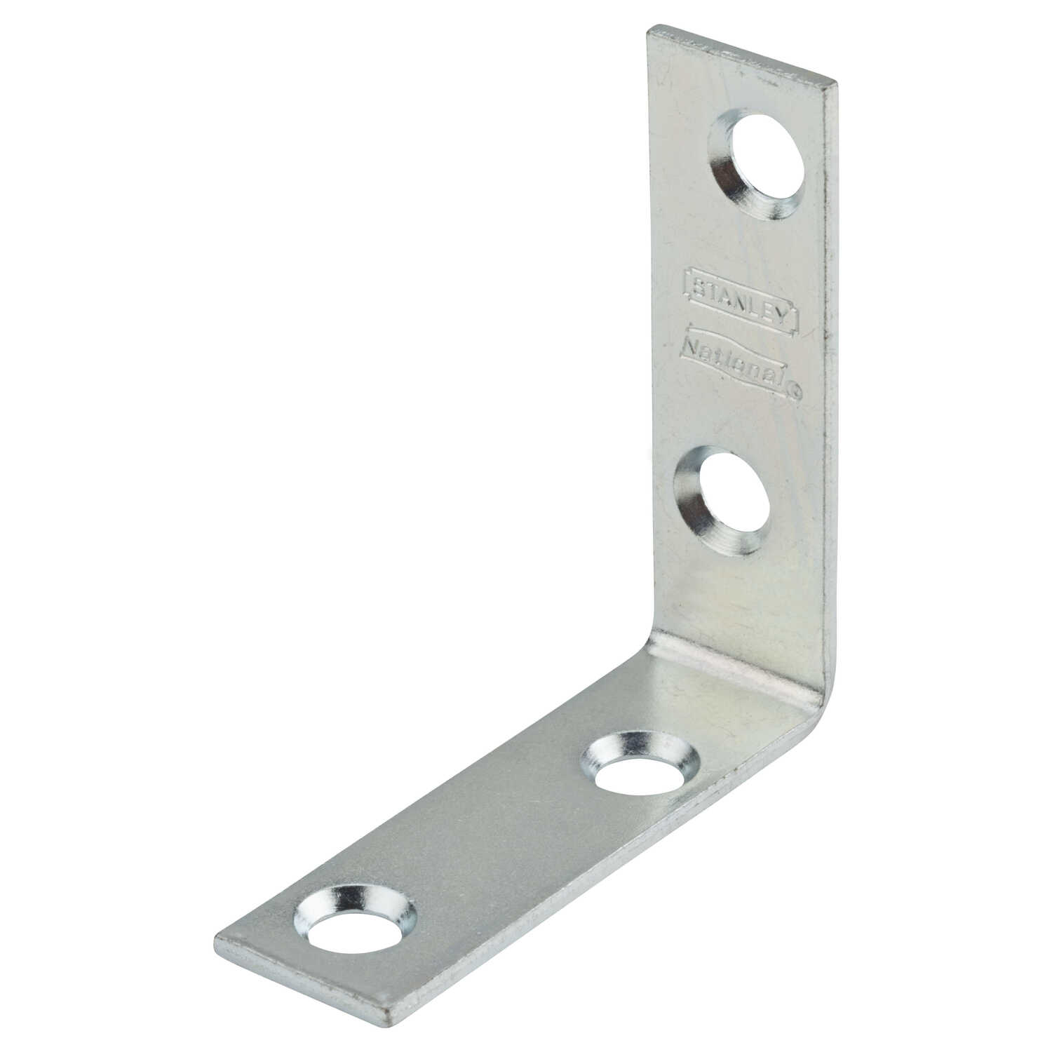 National Hardware  2 in. H x 5/8 in. W x 0.08 in. D Zinc-Plated  Steel  Inside  Corner Brace