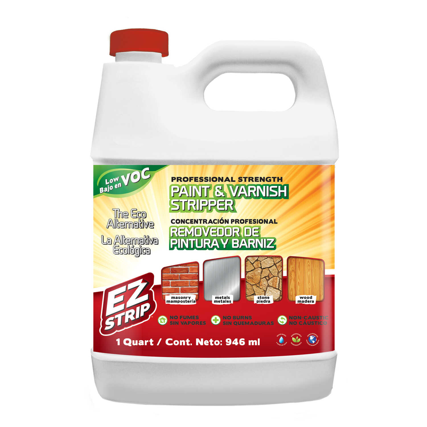EZ Strip  Paint and Varnish Stripper  32 oz.