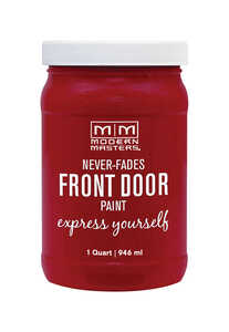Modern Masters  Satin  Passionate  1 qt. Front Door Paint