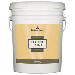 Benjamin Moore Waterborne Ceiling Paint Flat White Ceiling Paint Interior 5 gal.
