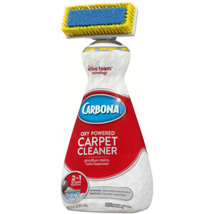 Carbona  2 in 1 Oxy Powered  No Scent Carpet Cleaner  27.5 oz. Liquid